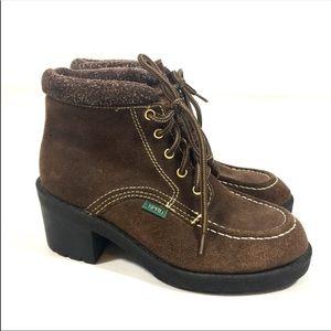 Esprit Vintage Chunky Heel Boots
